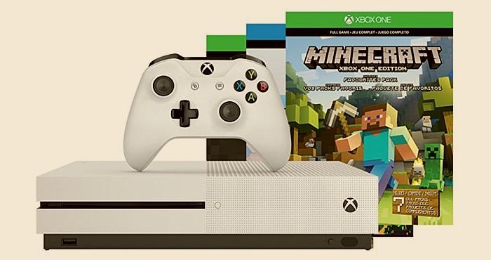 Minecraft announcedfour new Xbox One S bundles